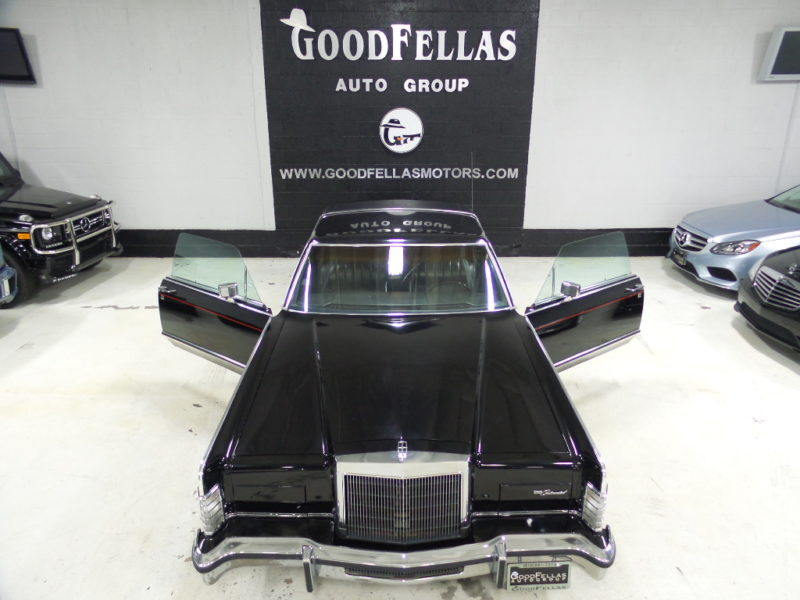 1977 LINCOLN CONTINENTAL TOWN COUPE | GoodFellas Auto Group Inc