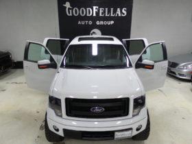2013 FORD F150 FX2 SPORT  LIFTED  CUSTOM UPGRADES  GoodFellas